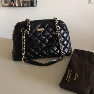 NWOT Kate Spade leather quilted shoulderbag